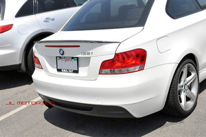 BMW E82 1 Series Performance Style Carbon Fiber Trunk Spoiler