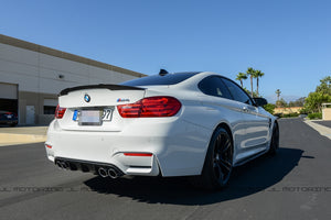 BMW F82 M4 Coupe Performance Style Carbon Fiber Trunk Spoiler