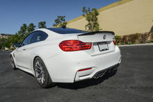 Load image into Gallery viewer, BMW F82 M4 Coupe Performance Style Carbon Fiber Trunk Spoiler