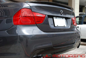 BMW E90 3 Series Performance Style Carbon Fiber Trunk Spoiler