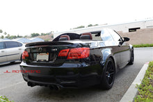 Load image into Gallery viewer, BMW E93 3 Series Convertible Performance Style Carbon Fiber Trunk Spoiler