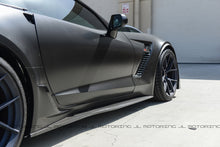 Load image into Gallery viewer, Chevrolet C7 Corvette Stage 2 Carbon Fiber Side Skirts