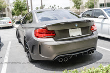 Load image into Gallery viewer, BMW F22 F87 M2 M Style Carbon Fiber Trunk Spoiler