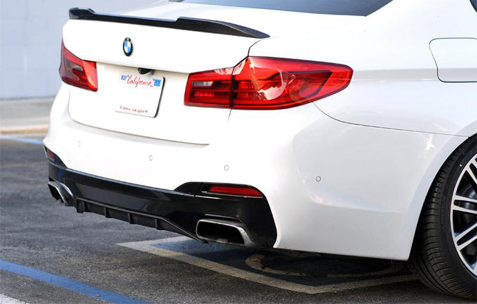 BMW G30 F90 M5 CS Carbon Fiber Trunk Spoiler