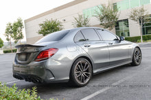 Load image into Gallery viewer, Mercedes W205 C Class GTX Carbon Fiber Trunk Spoiler