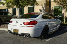Load image into Gallery viewer, BMW F12 F13 F06 M6 V2 Style Carbon Fiber Trunk Spoiler