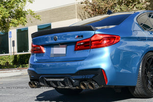 BMW F90 M5 Performance Carbon Fiber Rear Diffuser