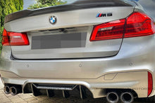 Load image into Gallery viewer, BMW G30 F90 M5 Competition Carbon Fiber Trunk Spoiler