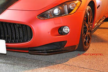Load image into Gallery viewer, Maserati GranTurismo Carbon Fiber Front Splitters