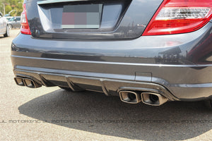 Mercedes Benz W204 C63 Carbon Fiber Rear Diffuser