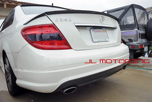 Mercedes Benz W204 C Class Carbon Fiber Rear Diffuser