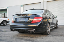 Load image into Gallery viewer, Mercedes Benz W204 C63 DTM Carbon Fiber Rear Diffuser