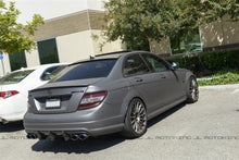 Load image into Gallery viewer, Mercedes Benz W204 C63 Big Fins Carbon Fiber Rear Diffuser