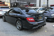 Load image into Gallery viewer, Mercedes Benz W204 C63 2012+ Carbon Fiber Rear Diffuser