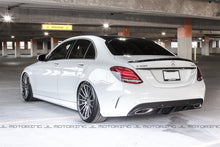 Load image into Gallery viewer, Mercedes Benz W205 C63 C300 C350 Sport Carbon Fiber Rear Diffuser