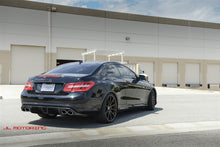 Load image into Gallery viewer, Mercedes Benz E350 E550 Coupe Carbon Fiber Rear Diffuser