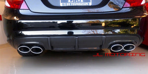 Mercedes Benz W216 CL63 CL65 AMG Carbon Fiber Rear Diffuser