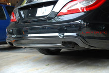 Load image into Gallery viewer, Mercedes W218 CLS 550 Carbon Fiber Rear Diffuser