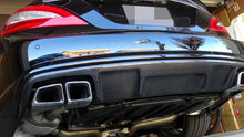 Load image into Gallery viewer, Mercedes W218 CLS 63 AMG Carbon Fiber Rear Diffuser