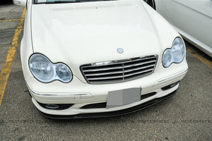 Mercedes Benz Carbon Fiber Front Lip - W203