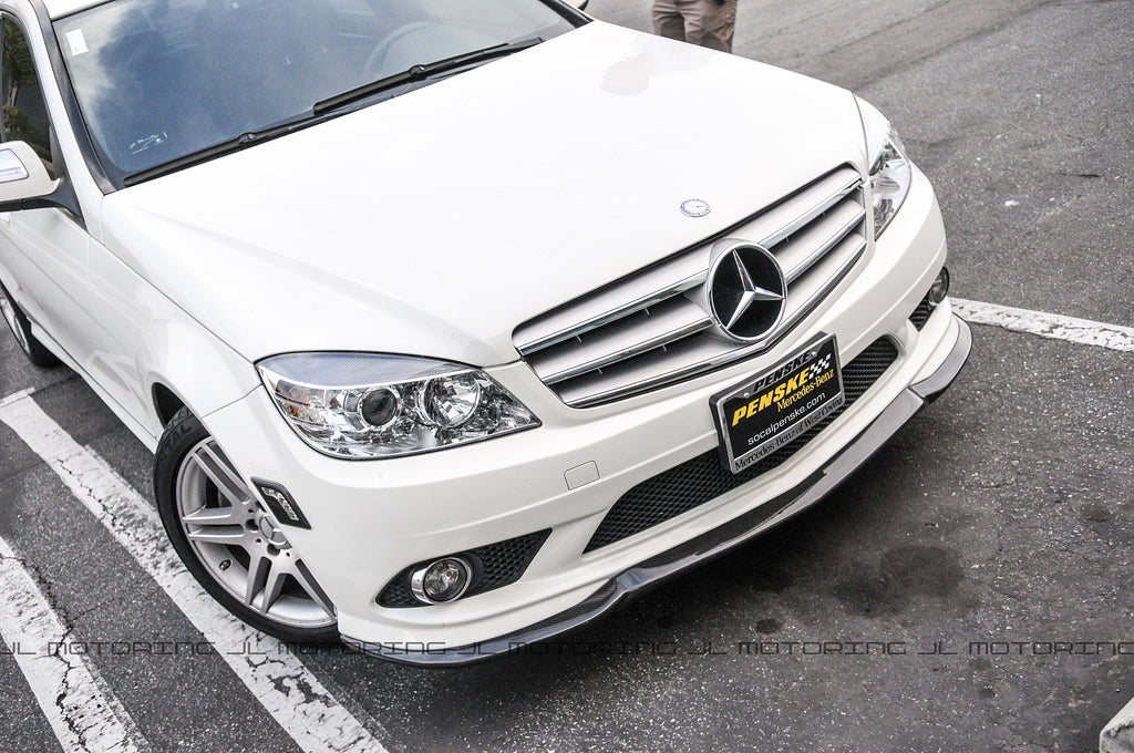 Mercedes Benz Carbon Fiber Front Lip - W204