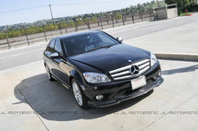 Load image into Gallery viewer, Mercedes Benz W204 Carbon Fiber Front Lip