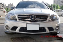 Load image into Gallery viewer, Mercedes Benz Carbon Fiber Front Splitters - W204 C63 AMG