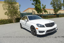 Load image into Gallery viewer, Mercedes Benz W204 C Class Carbon Fiber Front Lip