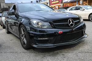 Mercedes Benz W204 C63 AMG Black Series Carbon Fiber Front Lip