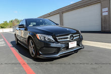 Load image into Gallery viewer, Mercedes Benz W205 C300 C450 AMG C43 Carbon Fiber Front Lip