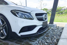 Load image into Gallery viewer, Mercedes Benz W205 C63 C63S AMG Carbon Fiber Front Lip