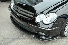 Load image into Gallery viewer, Mercedes Benz Carbon Fiber Front Lip - W209 CLK AMG W203 C55 AMG
