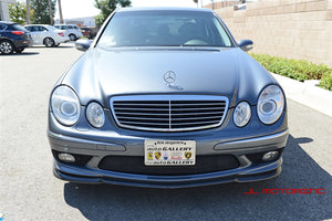 Mercedes Benz Carbon Fiber Front Lip - W211