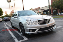 Load image into Gallery viewer, Mercedes Benz Carbon Fiber Front Lip - W211 E63 AMG