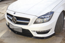 Load image into Gallery viewer, Mercedes Benz W218 CLS 63 AMG Carbon Fiber Front Lip