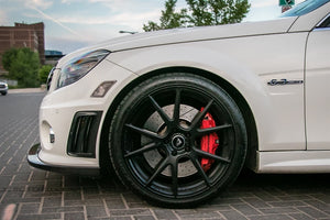 Mercedes Benz W204 C63 AMG Dry Carbon Fiber Side Vents