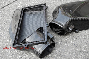 Mercedes AMG 63 Carbon Fiber Air Box Engine Cover System