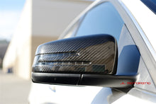 Load image into Gallery viewer, Mercedes Benz C117 CLA Carbon Fiber Mirror Covers