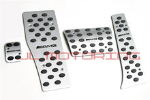 Load image into Gallery viewer, Mercedes Benz Brushed Aluminum Pedals