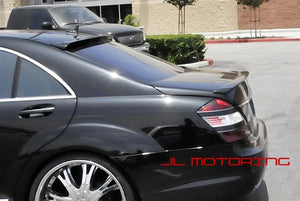 Mercedes W221 S Class L Style Roof Spoiler