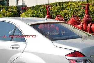 Mercedes W221 S Class AMG Style Roof Spoiler