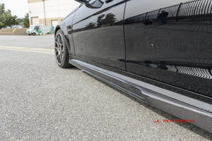 Mercedes Benz W204 Carbon Fiber Side Skirts