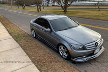Load image into Gallery viewer, Mercedes Benz W204 C250 C300 C350 Carbon Fiber Side Skirts