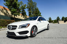 Load image into Gallery viewer, Mercedes Benz C117 CLA Class Carbon Fiber Side Skirts