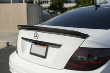 Load image into Gallery viewer, Mercedes Benz W204 C Coupe DTM Style Carbon Fiber Trunk Spoiler