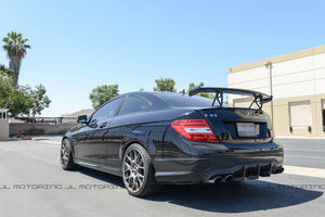 Mercedes Benz W204 C63 AMG Black Series Carbon Fiber Trunk Wing