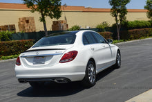 Load image into Gallery viewer, Mercedes W205 C Class AMG Style Carbon Fiber Trunk Spoiler