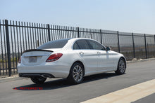 Load image into Gallery viewer, Mercedes W205 C Class V2 Carbon Fiber Trunk Spoiler