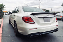 Load image into Gallery viewer, Mercedes W213 E63S AMG DTM Carbon Fiber Trunk Spoiler