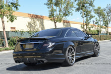 Load image into Gallery viewer, Mercedes Benz W216 CL 63 65 AMG Carbon Fiber Trunk Spoiler